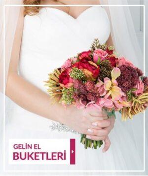 Kuk Çiçek Gelin El Buketleri Mini Banner